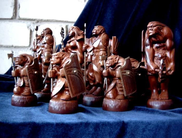 Деревянные Шахматы в Одессе